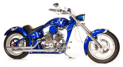 250cc Custom V-Twin Street Legal Motorcycle