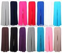 Women latest design knit palazzo pants