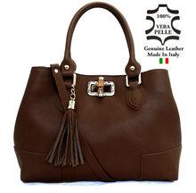 Leather Bags Handbag Made in Italy art. 55 Italian Genuine Leather Bag
