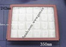 Gets.com wood gemstone display case box