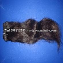 natural colour indian human virgin model model hair suppliar in dev hair