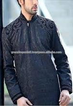 A Custom Mens Shalwar Kameez Suits,GI_7562 High quality fashion mens kurta/KURTA AND SHAWAR WITH EMBROIDERY/kurta shalwae