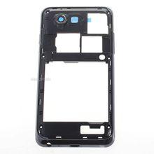 Samsung i9070 Original Black Middle Frame Housing Case w/ Lens Glass