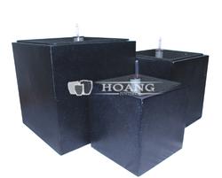 Cube Square Fiberstone Pot