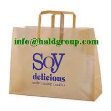 Hotsale Tri fold handle plastic bags