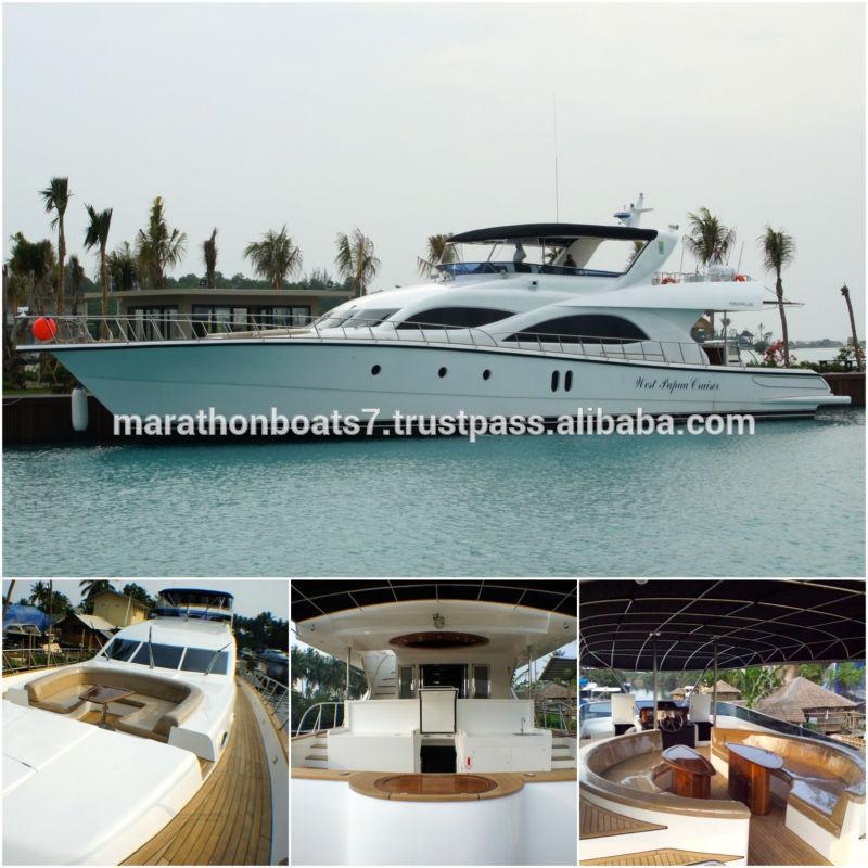Brand New Marathon 100 Flybridge Cruiser Luxury Yacht From