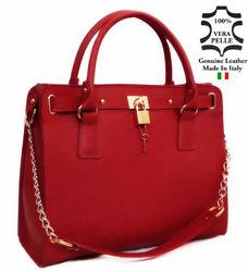 Genuine Leather Handbags Bags Made in Italy art 96 italian handbag bag