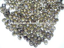 Natural Smokey Quartz Round Cut Loose Gemstones