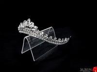 tiaras for wedding ,princess tiara crown ,crystal tiara hand made for order inlaid with SWAROVSKI Crystals and rhinestones,