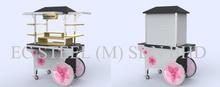 Accessory Cart - KS - 22334 Kiosk and Stall