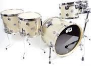 DW Collector's Series Broken Glass 5 Piece Drum Set
