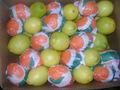 الليمون الطازج والأصفر والأخضر للبيع