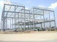 Pre-engineered steel frame