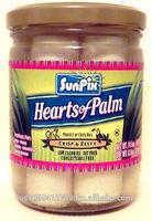 SunPix Brand Hearts of Palm in 14.5 oz Jars