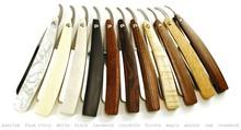 Damascus Straight Shaving Razor with wooden Handle / Straight Shaving Razor Blade /Stainless steel Barber Straight Razor