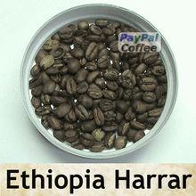 ROASTED COFFEE BEANS Arabica ETHIOPIA HARRAR LONGBERRY Oromia