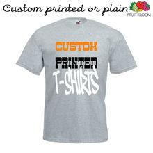 heather grey custom t shirts. customised grey t shirts. grey printed t shirts wholesale