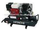 Hitachi EC2510E 5.5-Horsepower Gas Oiled Twin Pontoon Compressor