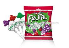 Frutal Center Filled Hard Candy 5,55g, strawberry, orange, lemon