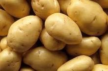 fresh potatoes and Sweet Potato