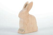 "Wooden statuette ""Rabbit"""