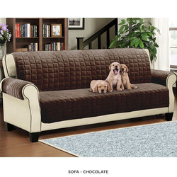 1,2,3 Seater Quilted Sofa Cover Throw Pet Furniture Protector