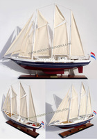 EENDRACHT SAILING YACHT - WOODEN SAILING YACHT MODEL