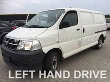 Vans usado- toyota hiace d-4d 4x4 van( lhd 1267 diesel)