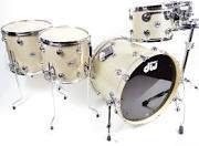 New DW Collector's Series Broken Glass 5pc Drum Set 10/12/14/16/22