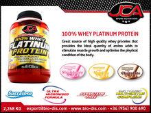 Whey 100% Platinum Protein - Bodybuilding & Fitness