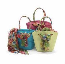 Multi colored jute beach bags/Jute wedding gift bag/ designer Bag/ 2015