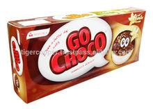 GO CHOCO SANDWICH BISCUIT WITH VANILLA CREAM BOX 180G