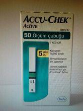 Accu Chek Active Diabetic Test Strips