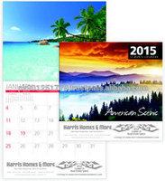 Paper Wall Scroll Calendar , Customized design and high quality calendar /high quality photo wall calendar printing
