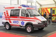 GAZ Sobol Ambulance 4x4
