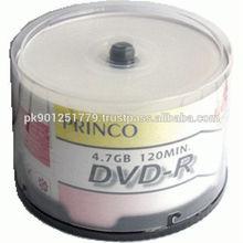 blank dvd r/ds dvd-r , A+ OEM DVD , Blank white printable DVD R
