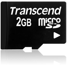 Transcend 2GB microSD Card - 2 GB