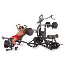 Body Solid SBL460P4 Freeweight Leverage Gym Package with 3-Station
