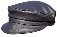Top quality super soft cow leather Car & Auto driving cap, leather cap