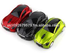 Cheapest 2.4G wireless car mouse for laptops Desktop mouse computer mini/usb car mouse