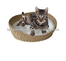 Water hyacinth cat bed, pet beds, animal beds