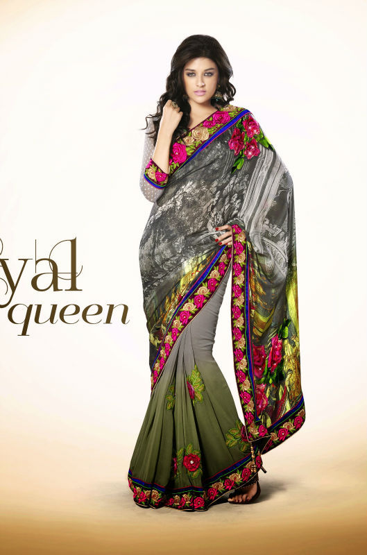 Authentic Designer Clothing Wholesale Designer elegance Saree