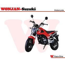 Race Bike (150cc) Wonjan-Suzuki engine, Motorcycle, , Motorbike, Chopper bike, Autocycle,Gas or Diesel Motorcycle (SY150-18 RED)