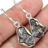 Meteorite Campo Del Cielo Supplier Earring, Meteorite Campo Del Cielo Supplier Silver Earring