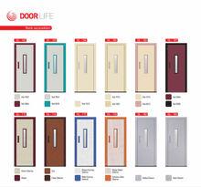 semi automatic elevator doors