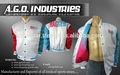 Pro- satin jaqueta de beisebol/juventude pro- jaqueta de cetim com listras remates/sublimação revestimentos