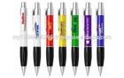 D1129 Push Action Ball Plastic Pen ( promotional gift, corporate gift, premium gift, souvenir )