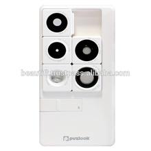 Korean origin Puzlook, smart phone case for iPhone 5, 5S, with interchangeable lens