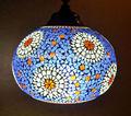 Traditionellen indischen glas deckenleuchte, großhändler von dekorativen glas pendelleuchten