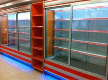 Refrigerator for supermarket